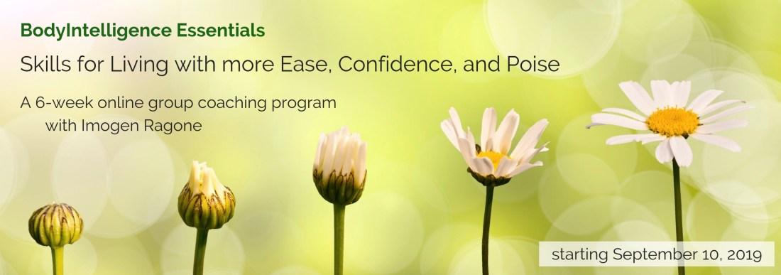 BodyIntelligence Essentials starting September 10, 2019