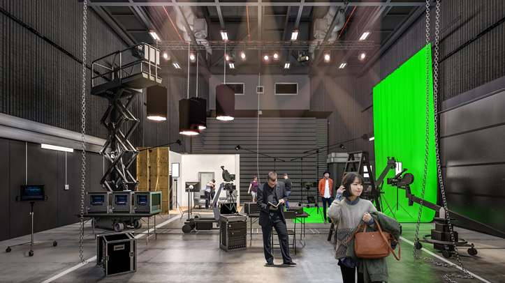 Learn skills and knowledge to work in TV and film
