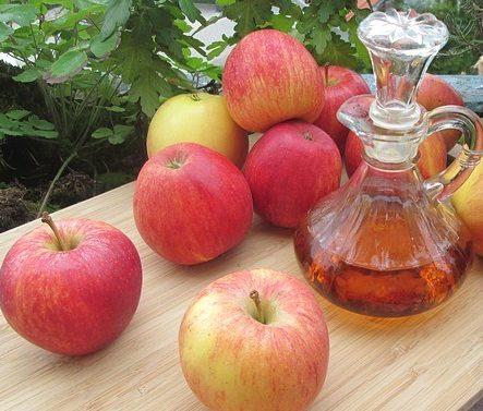 apples vinegar