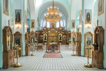 Храм в честь Собора Двенадцати Апостолов в Иоанновском монастыре
