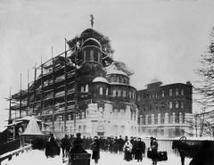 Строительство Иоанновского монастыря. 1901 г.