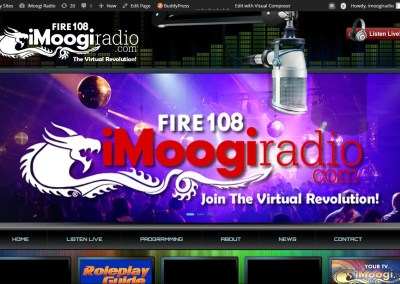 iMoogi Radio Website