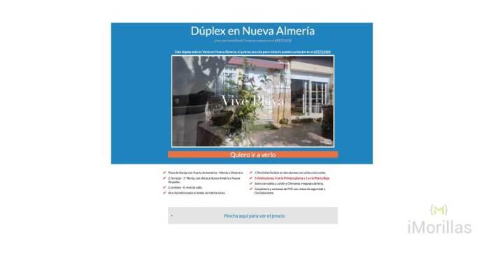 Duplex Nueva Almería