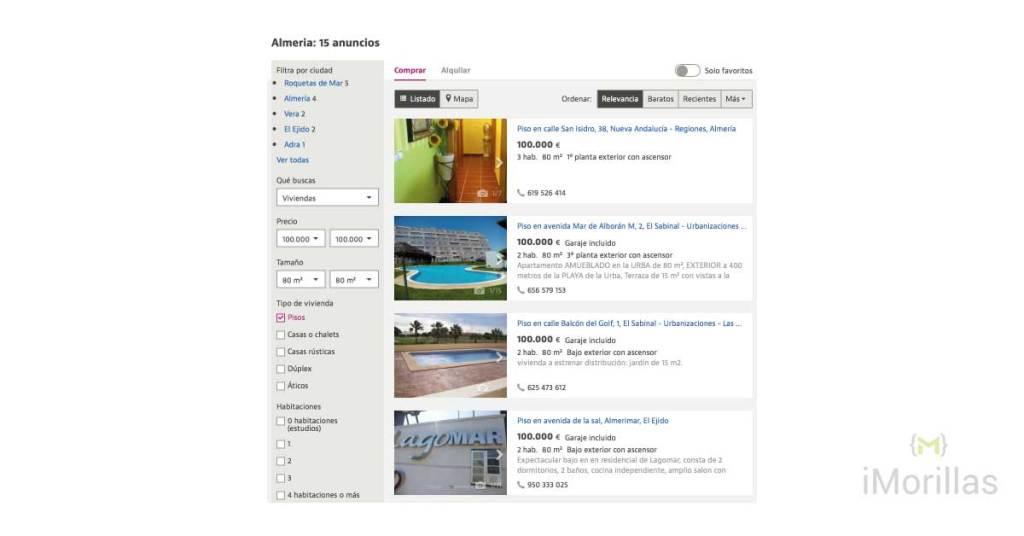 Cómo vender un piso en Almería