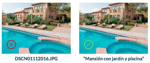 optimizar imagenes para vender casas