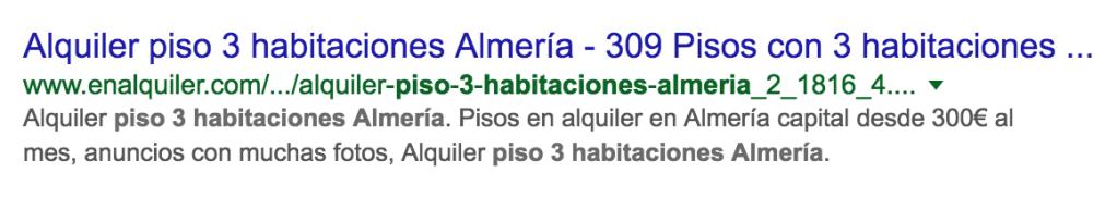 resultados en google para piso en almeria