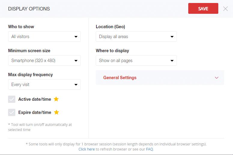 opciones de visualizacion de zotabox en nuestra web