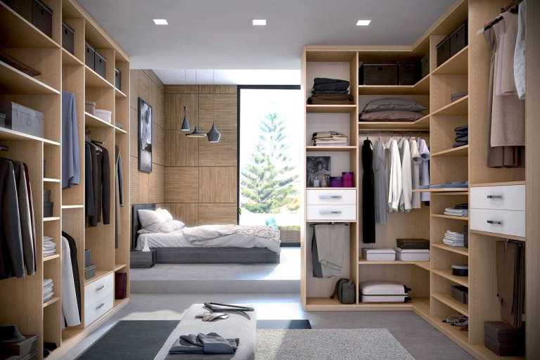 dressing appartement