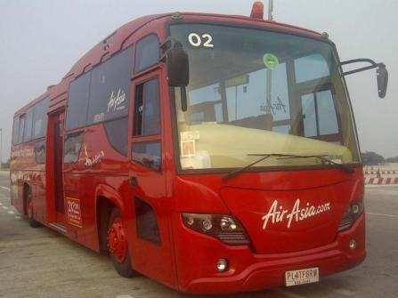 Air Asia Apron bus