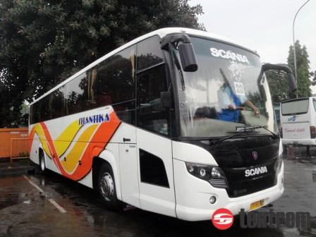 Tentrem bus 3 shantika scor