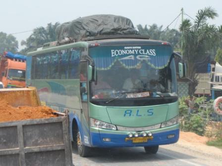 Evo menjadi favorit banyak Perusahaan Otobus di sumatra, karena konstruksinya yang kuat