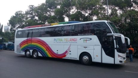 Rahayu Santosa new jetliner putra pelangi
