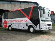 Bus shuttle air asia