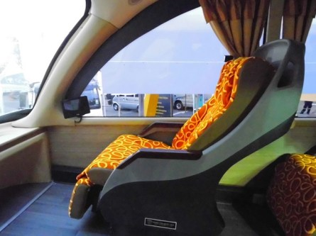 Deck atas Nusgem Cityliner Double Deck