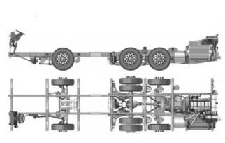 Sketsa Chassis K410