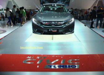 Tampak Depan All New Honda Civic Turbo