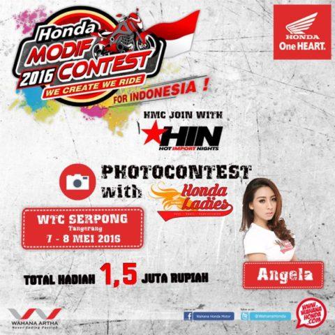 Honda Modif contest 2016-2