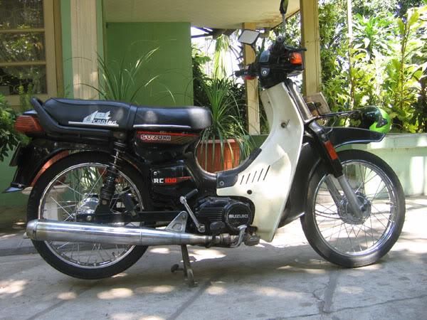 jepitan jok motor-Suzuki RC 100