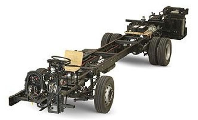 Mercedes Benz OH1518 chassis