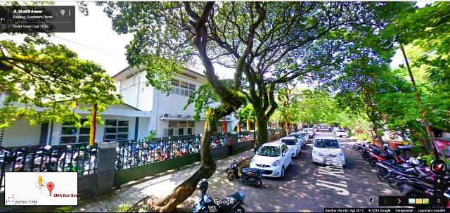 Jl. Khairil Anwar, SMA Don Bosco Kota Padang