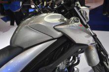 Desain Fueltank GSX-S150 yang kelihatan berotot