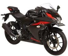 GSX-R150 Black Matte