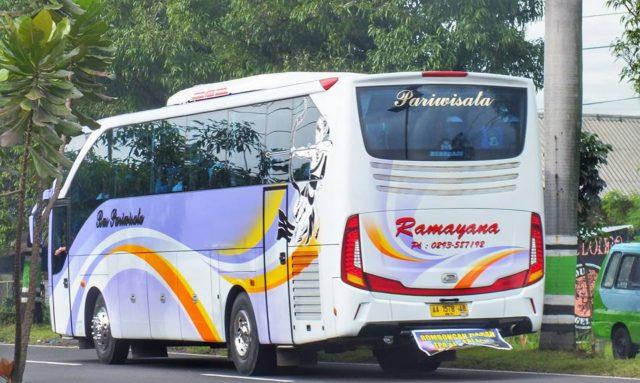 Mengenal Dan Sekilas Sejarah PO Ramayana, Si Bus Pemanah Ungu Lintas Jawa - Sumatra