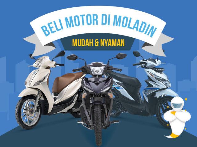 Cara Mudah Beli Motor Lewat Aplikasi Moladin Nih !!