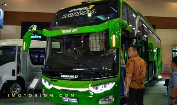 Giicomvec 2018 Melihat Detail Bus Pandawa 87 Adiputro