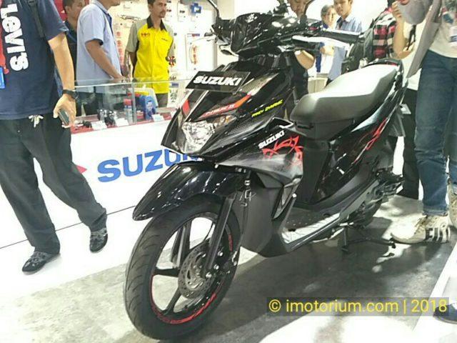 Suzuki NEX II Resmi Launching Di IIMS 2018, Berikut Foto Detail dan Estimasi Harganya
