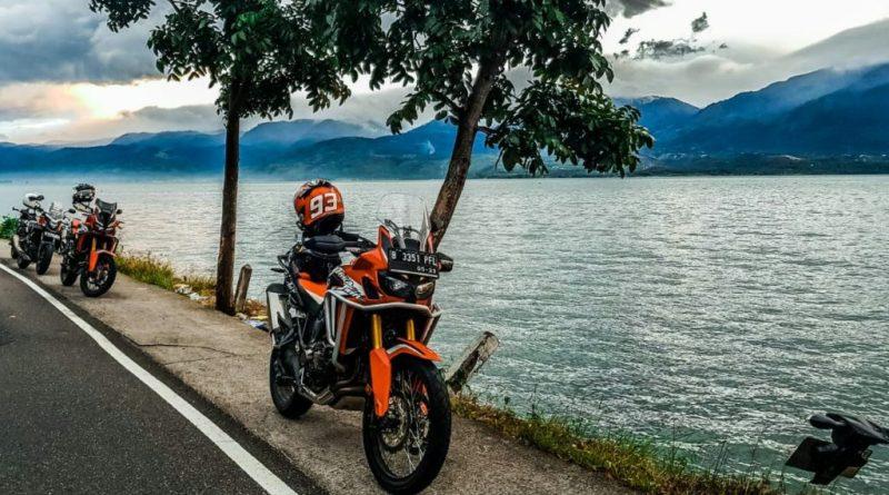 touring motor ke sumatra wahana big bike honda