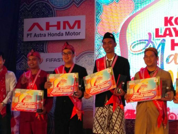 event kontes layanan honda nasional
