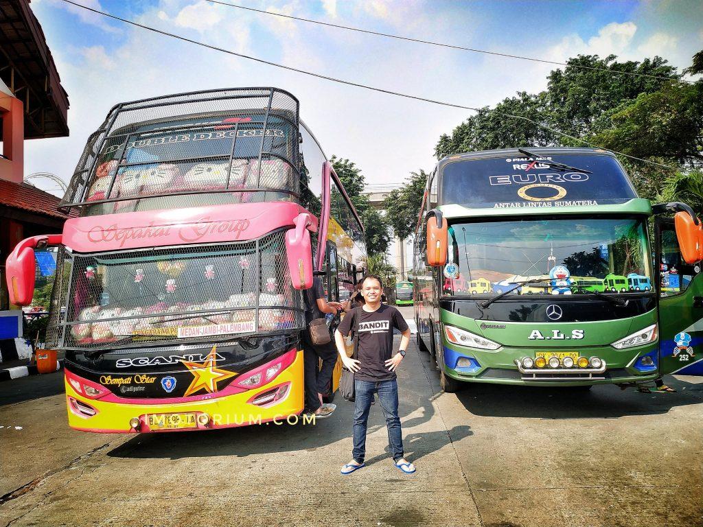 Pengalaman Naik Bus Sempati Star Double Decker Jakarta Medan Part 1