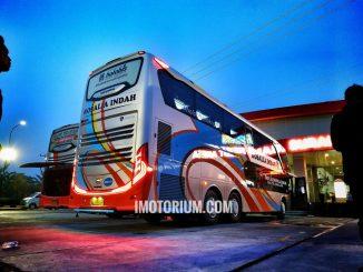Bus Rosalia Indah Double Decker