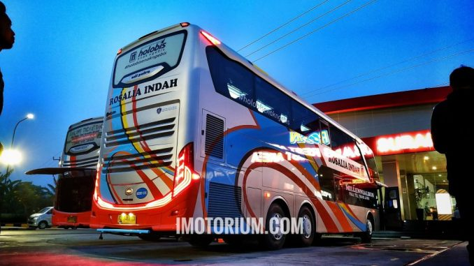 Bus Rosalia Indah Double Decker