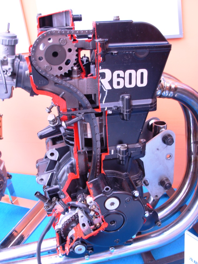 Suzuki AR600 engine