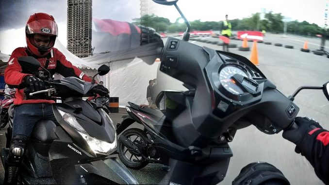 Test Ride honda beat 2020