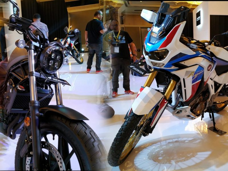Honda Africa Twin dan Honda Rebel 2020