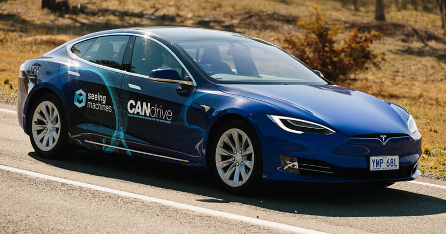 Seeing Machines Canberra automated vehicle trial
