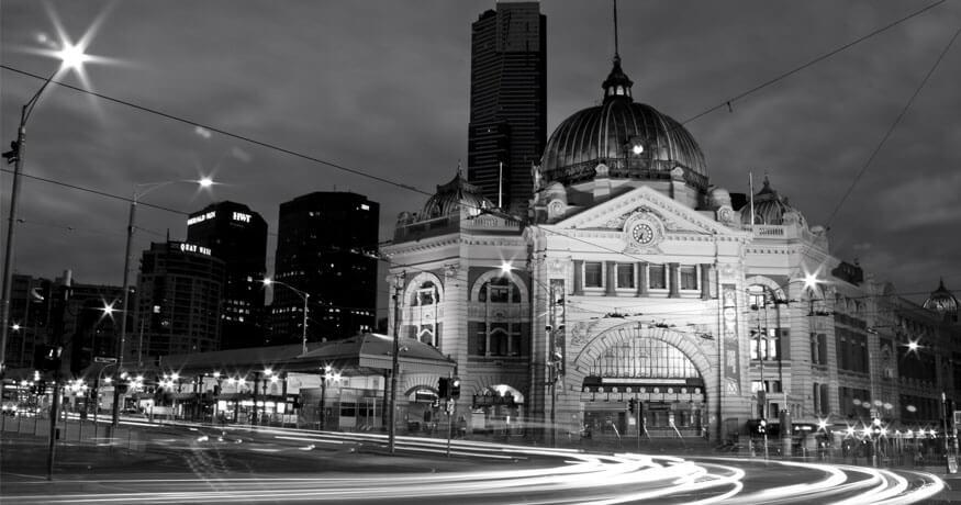 Flinders Street train station Melbourne
