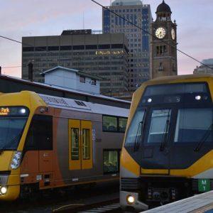 Sydney trains platform