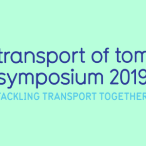 transport of tomorrow symposium 2019 logo colour bground