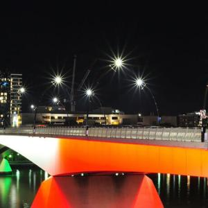 Brisbane Go Between Bridge night