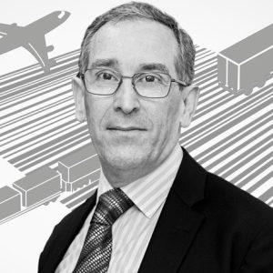 Ian Christensen freight barcode background