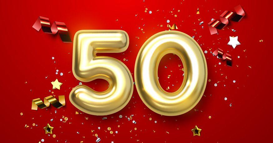 50 celebration