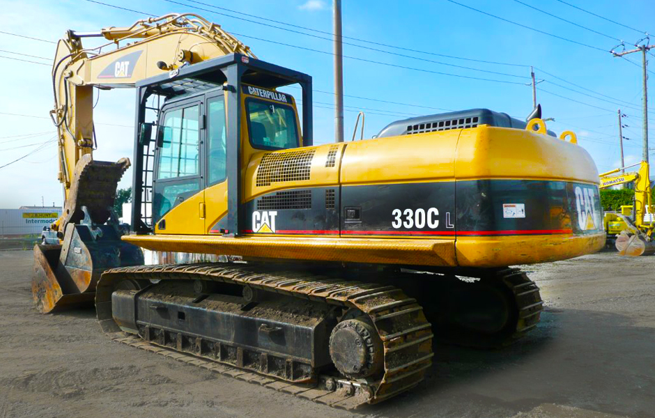 RENT A CAT 330CL EXCAVATOR IN VANCOUVER