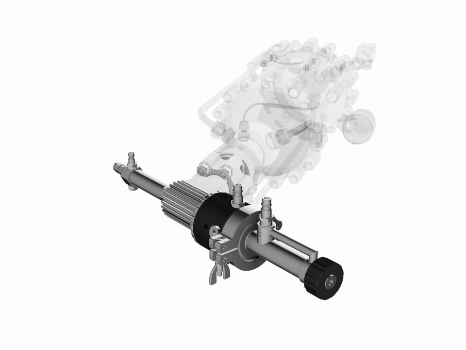 Impact Innovations Cooled Powder Injector Kit_003 for cold spraying