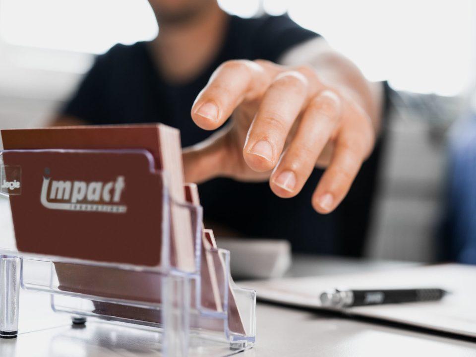 Visitenkarten Impact Innovations