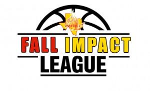 Fall basketball league logo