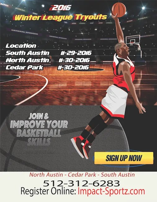 Austin basketball winter league